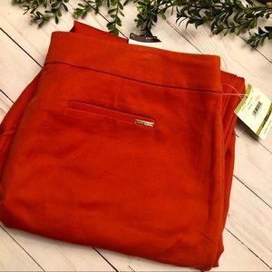 New spicy orange pant Anne Klein size 14